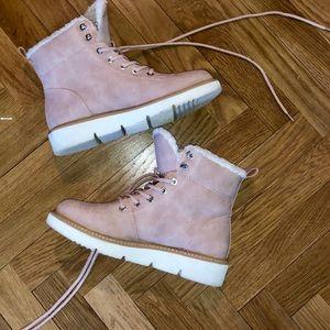ALDO pink winter boots